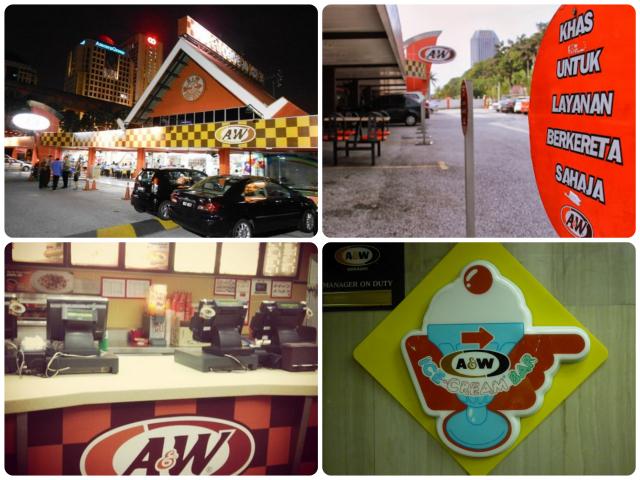 A&W Drive In Restaurant Petaling Jaya