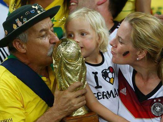 Brazilian old man German