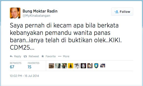 Source: Bung Moktar's Twitter