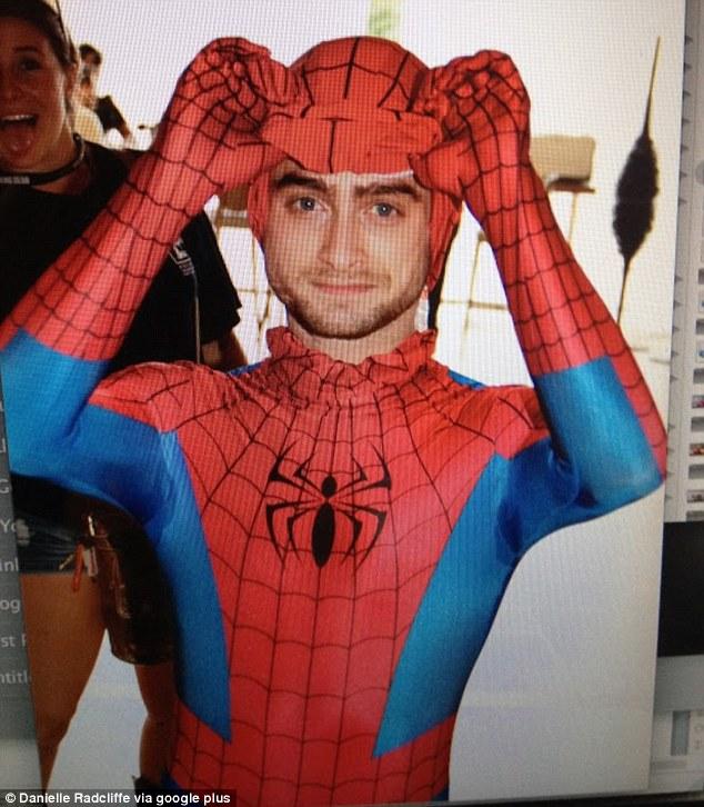 Daniel Radcliffe Spider-Man