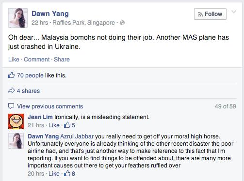Source: Dawn Yang's Facebook account