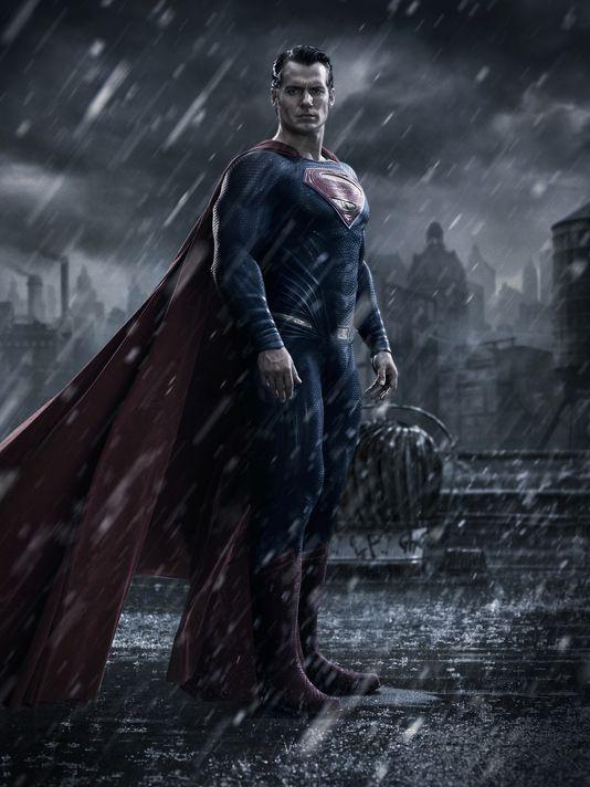 Henry Cavill as Superman Batman v Superman Dawn of Justice