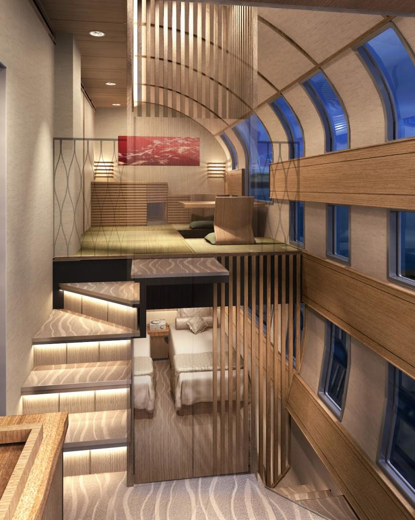 Japan Luxury Cruise Train 9