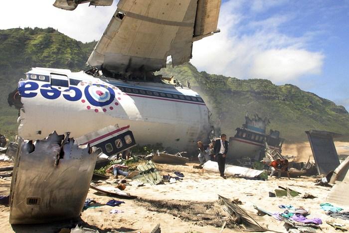 LOST TV series plane crash
