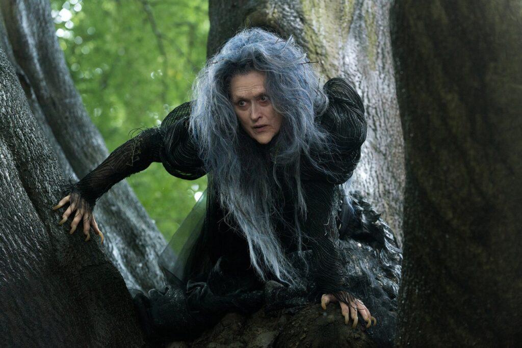 First Look at Meryl Streep / Walt Disney via Yahoo