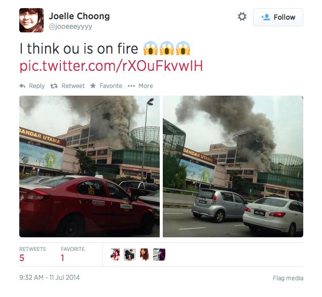 One U fire
