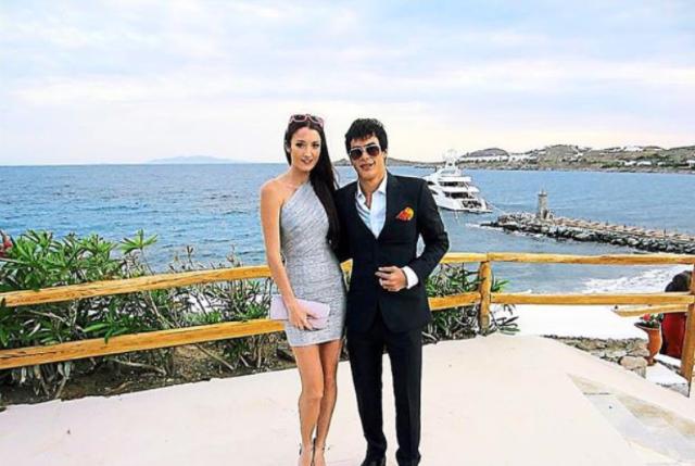 Regina Soosalu & Boyfriend, Tengku Alang Reza