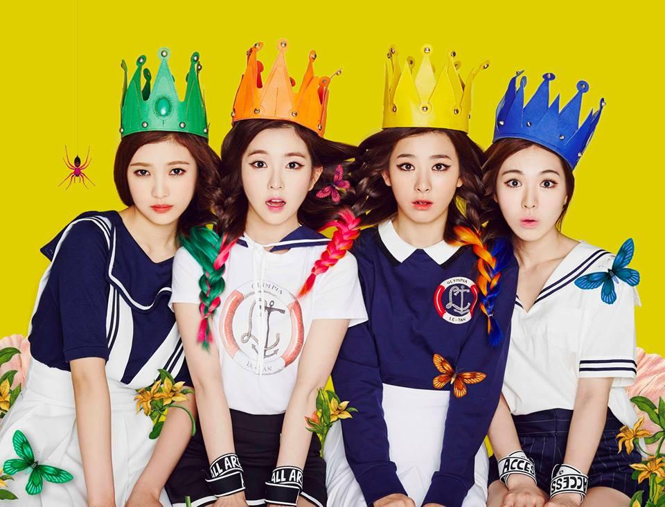 SM New Girl Group Red Velvet
