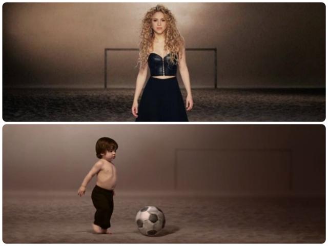 Shakira Milan World Cup La La La