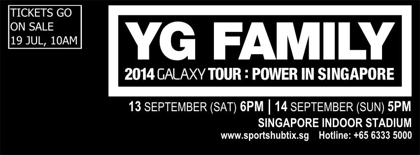YG Family Concert Singapore