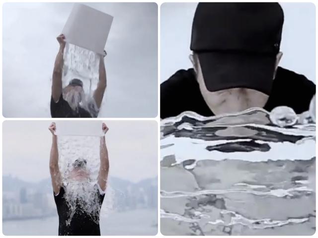 Andy Lau ALS Ice Bucket Challenge
