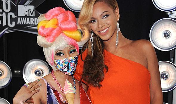 Beyonce Nicki Minaj