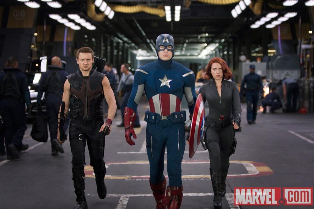 Hawkeye / Captain America / Black Widow