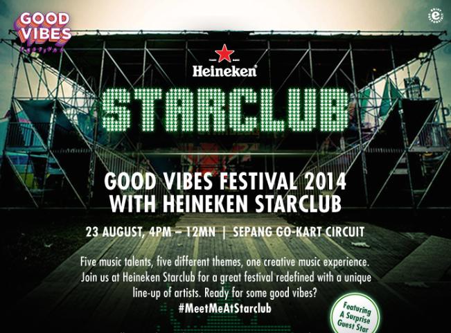 Heineken Star Club Good Vibes Fest 2014