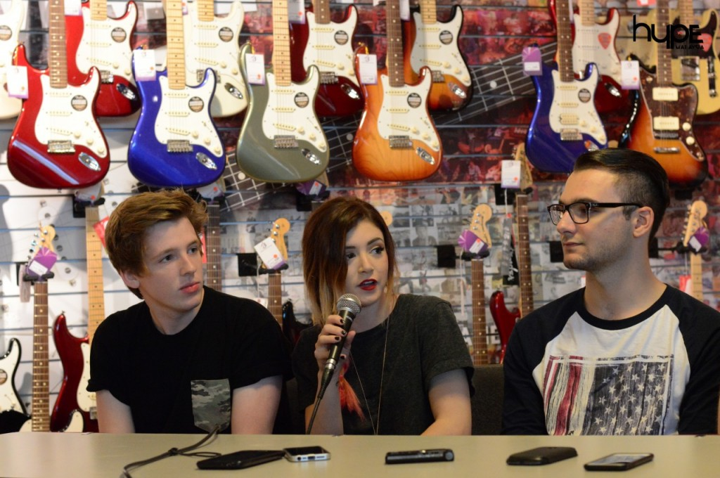 Hype's Exclusive Interview Against the Current