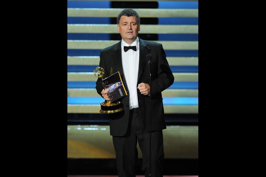 Steven Moffat of Sherlock Primetime Emmys