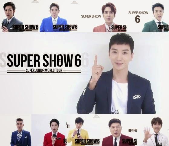 SuJu Super Show 6