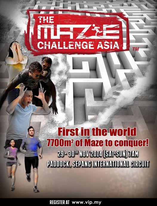The Maze Challenge Asia