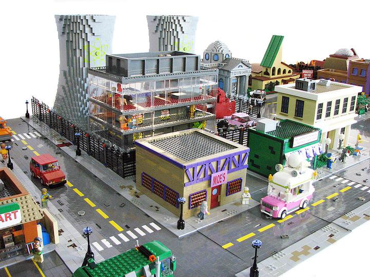 simpsons LEGO springfield 2