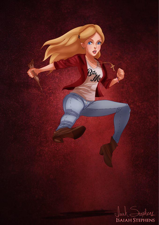 Alice Liddel as Buffy Summers