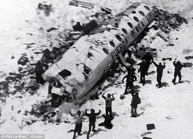 Uruguayan Air Force Flight 571 crash (Source: dailymail.co.uk)