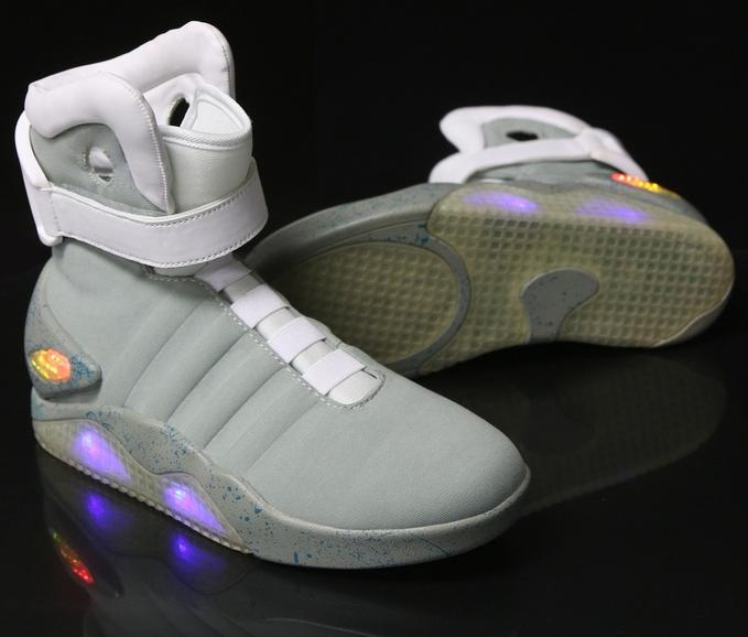 BackToTheFuture2: Marty McFly's Nike Shoes Licensed By