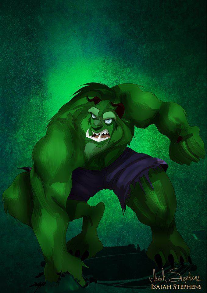 Beast Hulk Avengers