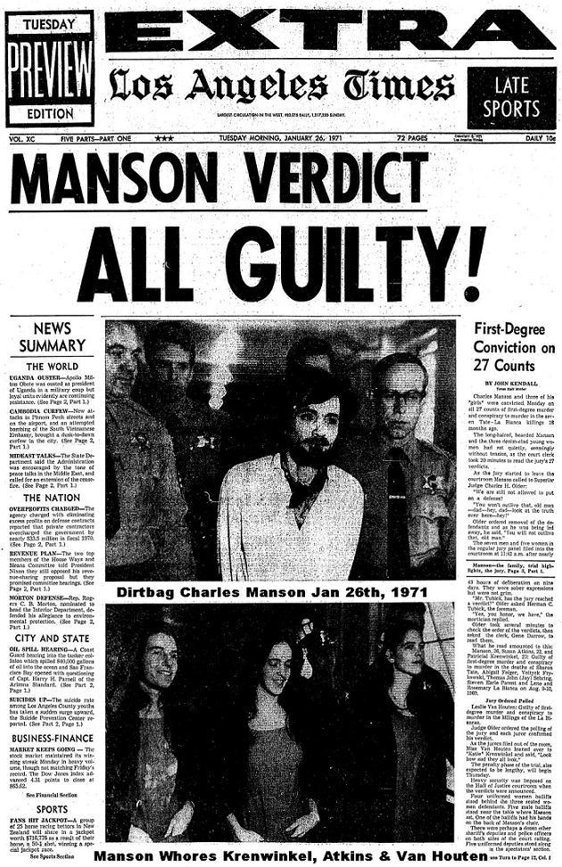 Charles Manson Murder