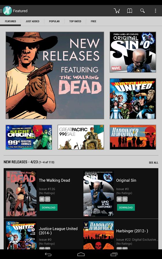 Comics App Android