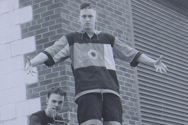 A rare photo of a young Eminem (Source: mtlblog.com)