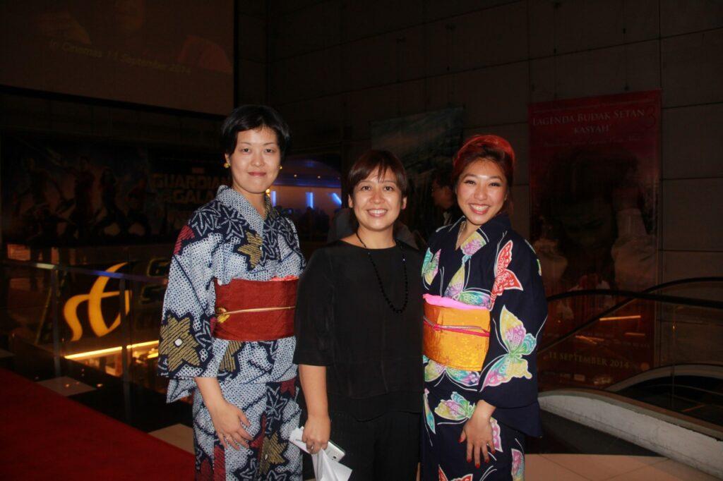 JFF14 Mio Yachita (Japan Foundation), Kugai Kyoko (Japan Foundation), Linora Low