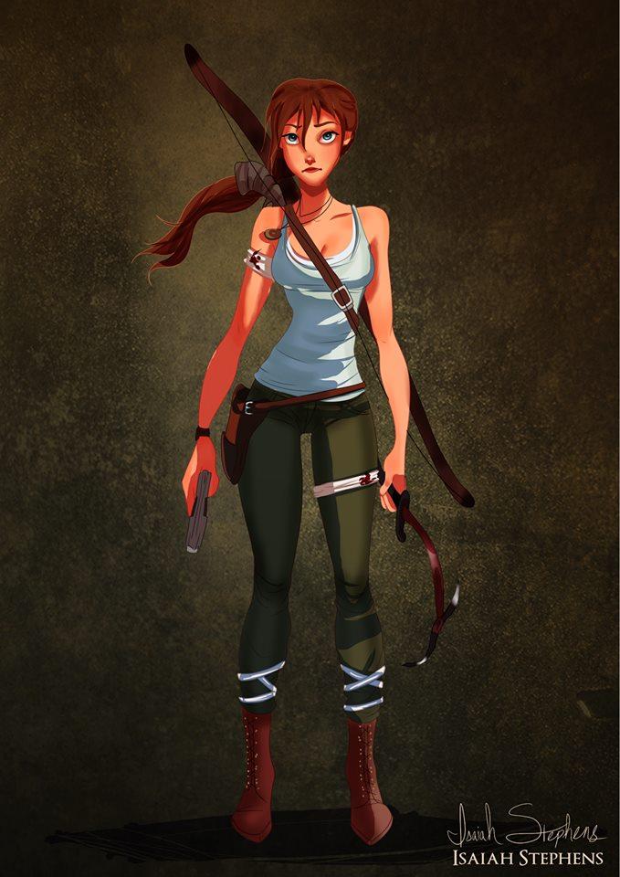 Jane as Lara Croft