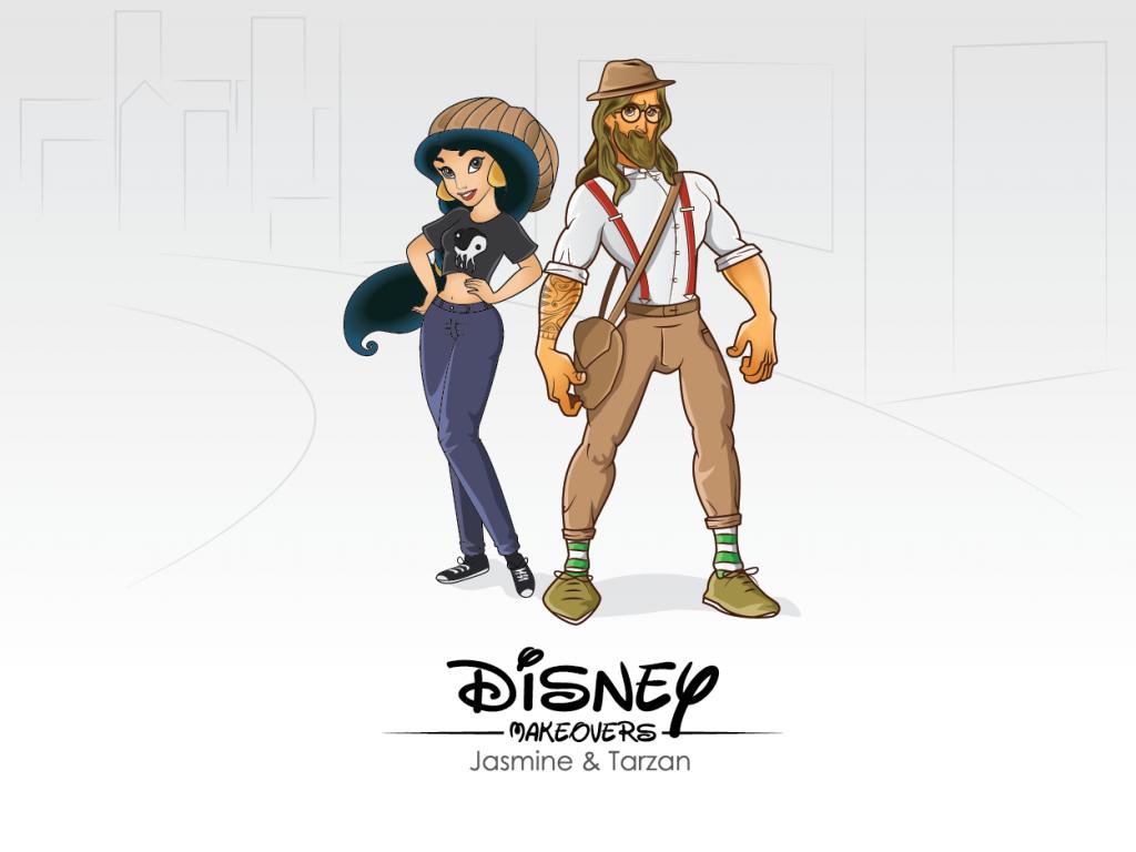 Jasmine & Tarzan Hipster