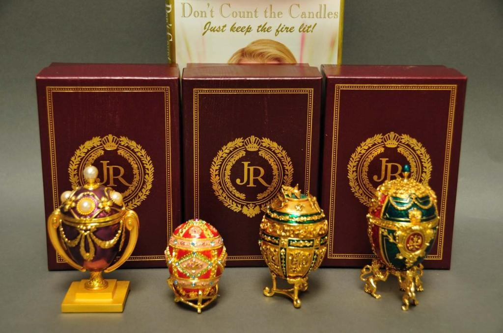 Joan Rivers Fabergé eggs collector