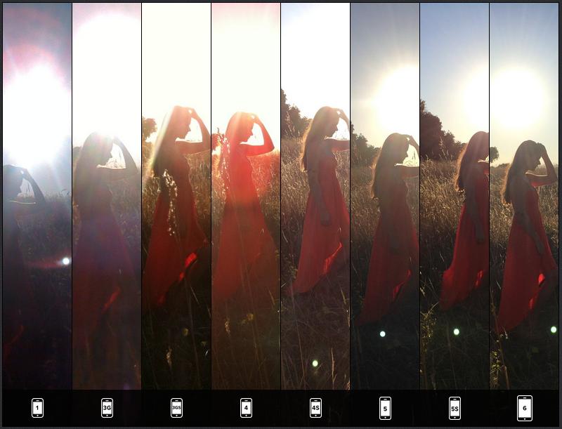 Lisa Bettany iPhone Snapsnapsnap Full Backlit