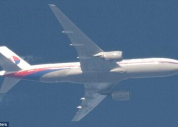Last known photo of MH370