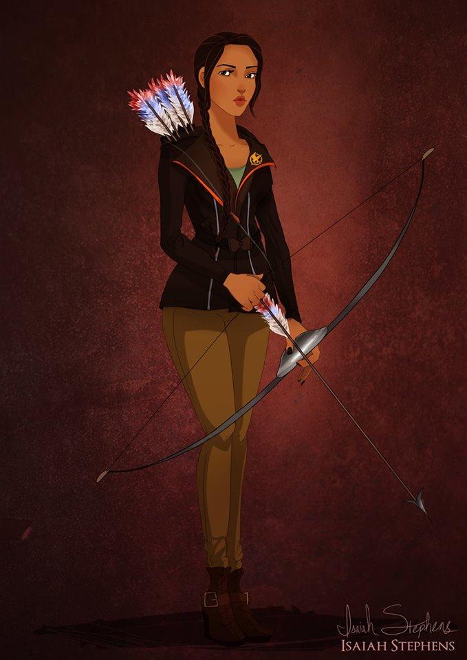 Pocahonta Katniss Everdeen The Hunger Games
