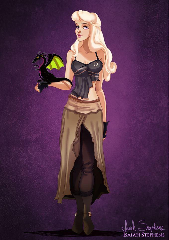 Princess Aurora Daenerys Targaryen Game of Thrones