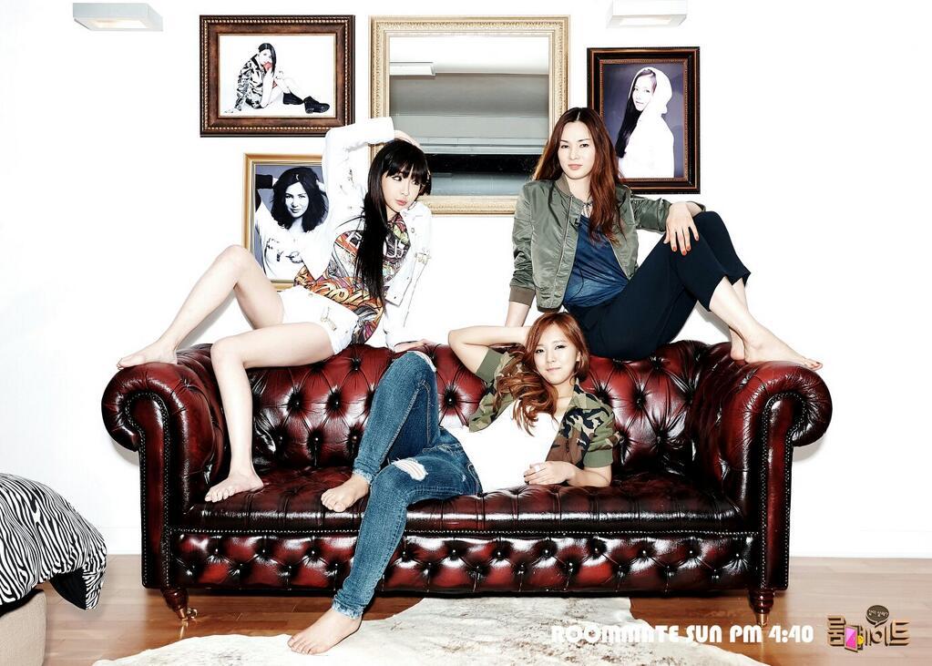 SBS Roommate Park Bom Park Gayeon Lee Sora