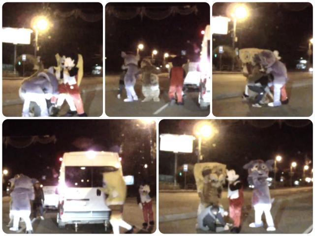 Severe Chelyabinsk Disney Road Rage Video