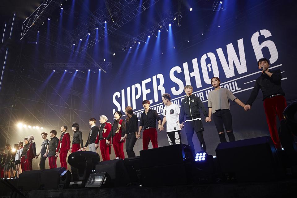 Super Junior Super Show 6 100th Concert