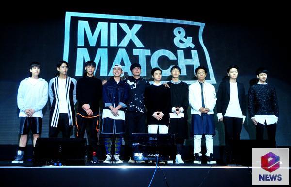 YG Entertainment MIX & MATCH