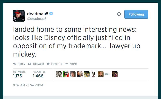 deadmau5 mau5head Logo Disney Mickey Mouse