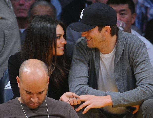 Ashton Kutcher Mila Kunis