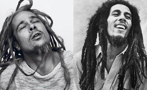 Brad Pitt Bob Marley