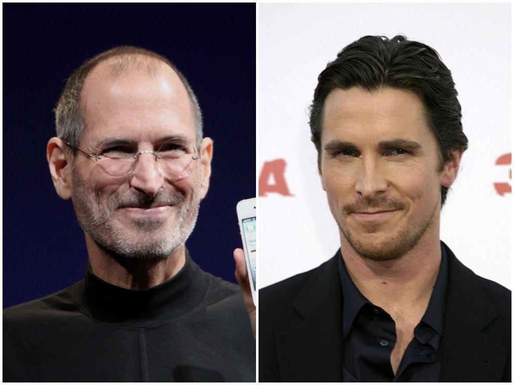 Christian Bale as Steve Jobs