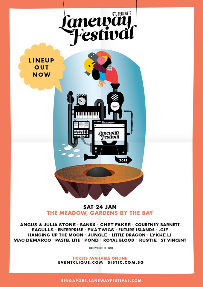 Laneway Fest Singapore 2015