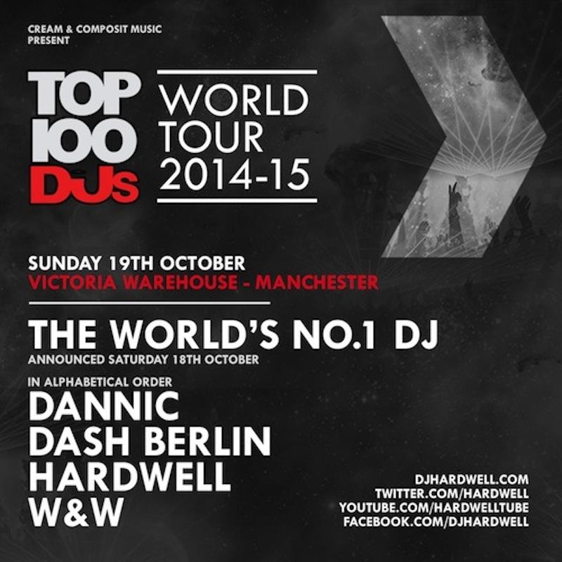 Top 100 DJs 2014 World Tour