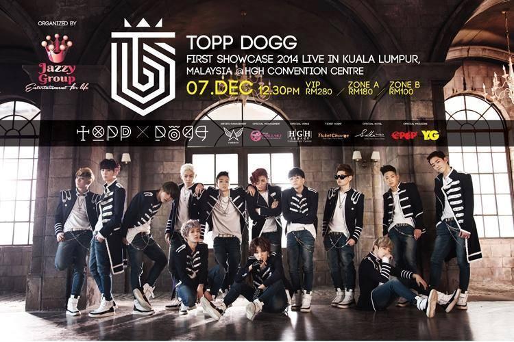 Topp Dogg First Showcase in Malaysia