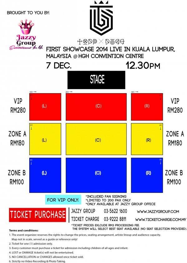 Topp Dogg first showcase in Kuala Lumpur